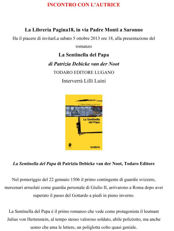 Microsoft Word - Locandina invito La Sentinella del Papa, bozza