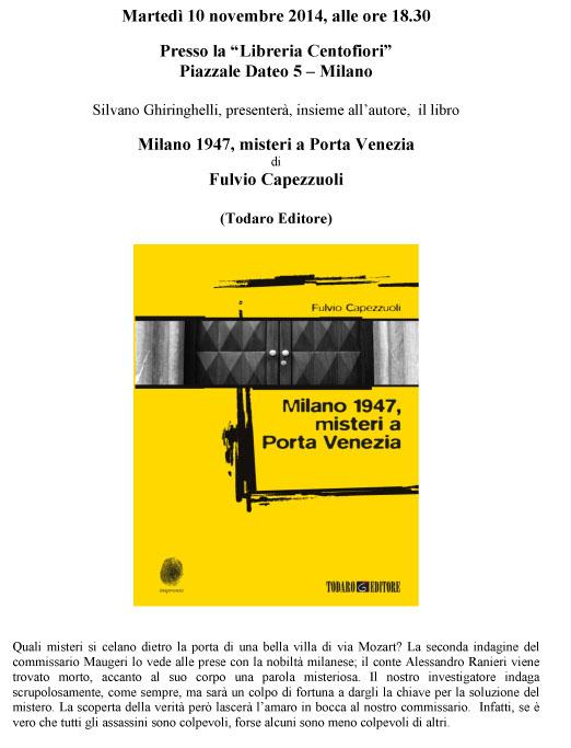 Microsoft Word - Presentazione Milano 1947 centofiori.doc