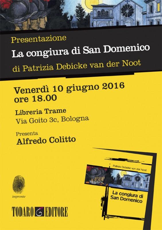 Todaro_Locandina VanDerNoot_Bologna.indd