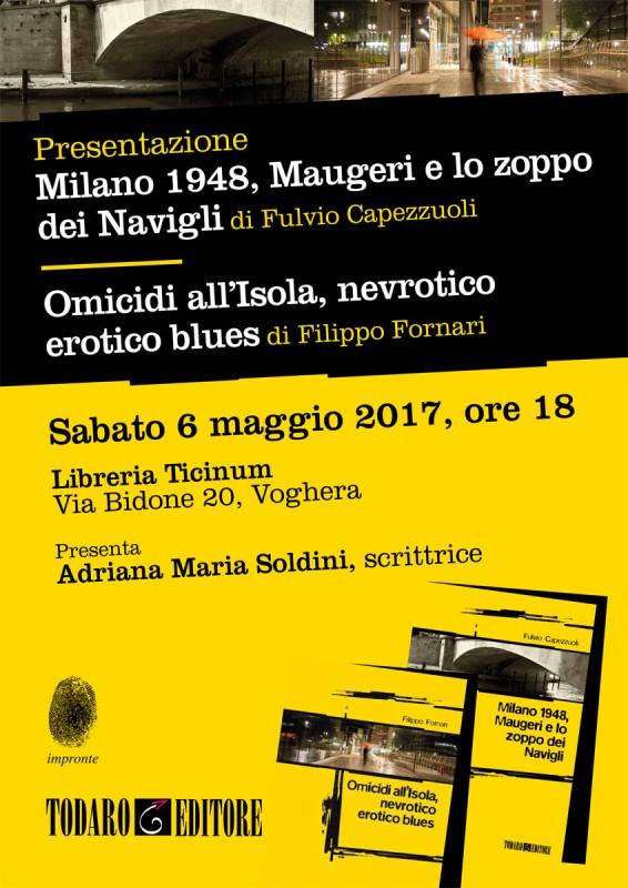 Todaro_Locandina Milano1948 e Omicidi all'Isola_Voghera_apr17