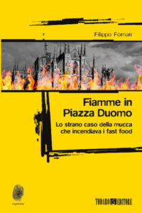Fiamme in Piazza Duomo